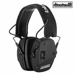 PROHEAR 030 Electronic Shooting Ear Protection Muffs with Bl
