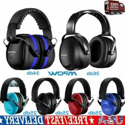 Mpow 044 Noise Reduction Safety Ear Muffs Adjustable SNR 36d