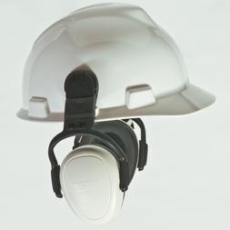 1 Pair MSA left/RIGHT Low ATTN White Hard Hat Cap Mount Ear