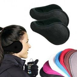 2 ear muffs winter ear warmers fleece