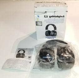 2 New Leightning L3 Noise-Blocking Earmuffs 30NRR Black 1010