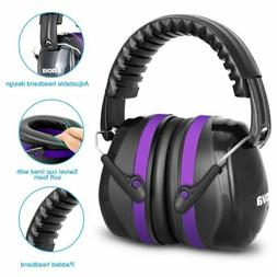 Noise Protection Padded Ear Muffs Hunting Shooting Lightweig