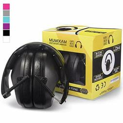 34dB Safety Ear Protection - Special Designed Ear Muffs Ligh