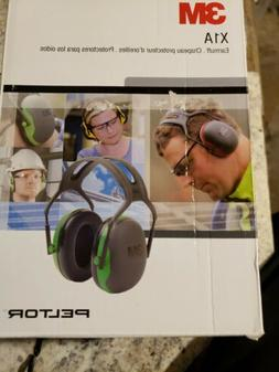 3M Peltor X-Series Over-the-Head Earmuffs, One Size Fits Mos