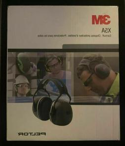 3M PELTOR X5A Over the Head Ear Muffs Noise Protection NRR 3