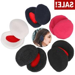 A Pairs Fleece Ear Muffs Soft Winter Ear Warmers for Cold We