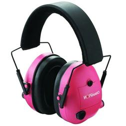 Champion Adjustable Protective Electronic Ear Muffs 25 NRR -