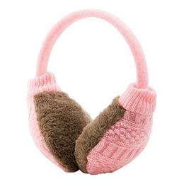 Metog Adult Knitted Removable Warm Winter Earmuffs - Christm