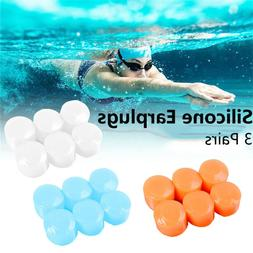Swimming Sleeping Earplugs Soft Silicone Earmuffs Ear Plugs