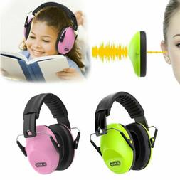 Baby Girls Boys Hearing Protection Ear Muffs Kids Noise Canc