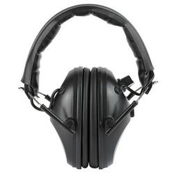 Walkers Black Earmuffs Hearing Protection Shooting Safety Ea