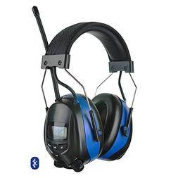 Protear Bluetooth Hearing Protection Earmuffs with Digital A