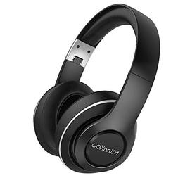 Bluetooth Headphones, MindKoo Hi-Fi Stereo Over-Ear Wireless