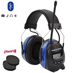 PROTEAR Bluetooth & Radio AM/FM Hearing Protection Safety Ea