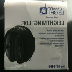 howard leight by honeywell leightning lof earmuffs 23dB