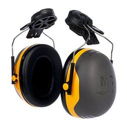 3M X2P3E Peltor Black and Yellow Model /37276, Plastic, 5.7""