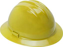 Bullard Classic Full Brim Slotted Hard Hat with 6 Point Ratc