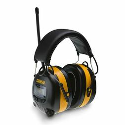 DEWALT Digital AM/FM Hearing Protector Earmuffs With Radio M
