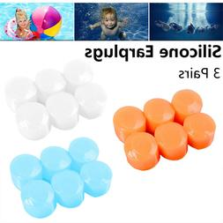 Sleeping Swimming Earplugs Earmuffs Ear Plugs Soft Silicone