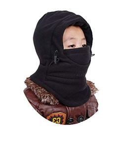 YR.Lover Children's Double-Deck Winter Windproof Cap Thick W