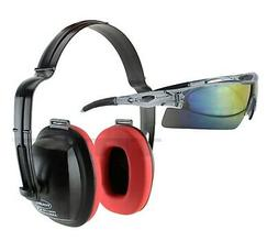 TITUS EAR EYE PROTECTION EARMUFFS W FREE SAFETY SUNGLASSES S