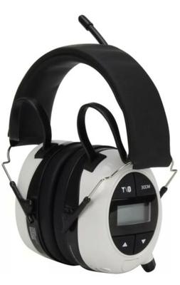 Safety Works Ear Muffs Bluetooth Hearing Noise Protection wi