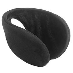 Dseap Ear Muffs: Soft Warm Foldable Unisex Fleece Behind-The