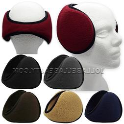 Ear Muffs Winter Warmer Fleece Headband Men's Women Unisex A