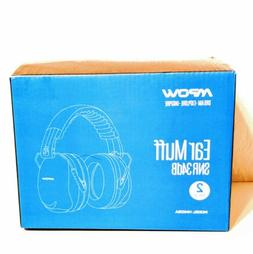 Mpow Ear Protection 2 Packs, NRR 28dB Professional Defenders