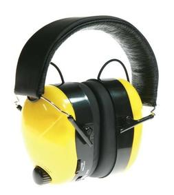 Earmuff Headset with am fm Radio Headphones head set jobsite