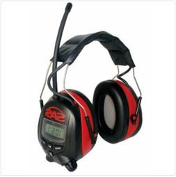 Digital Earmuff Hearing Protection with AM/FM Radio and MP-3