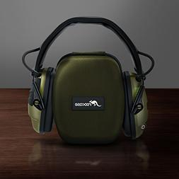 Earmuff Protective Travel Case for Howard Leight Impact Elec