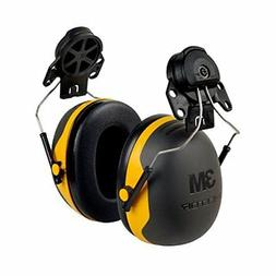 Earmuffs Noise Protection Mounting Attach Hat Helmet Hardhat