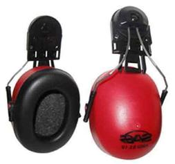 SAS Safety 7160-70 Earmuffs with Attachment Hardware-NRR22 f