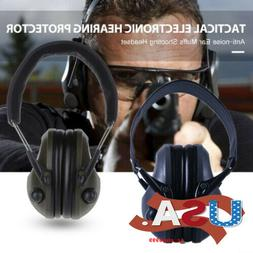 Electronic Ear Muffs Hearing Protection Noise Cancelling Sho