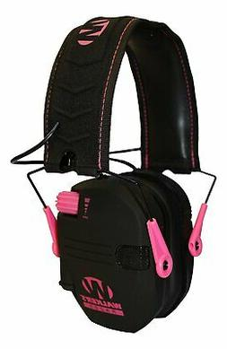 Shooting Earmuffs For Kids, Pink Slim Women Tactical Electro