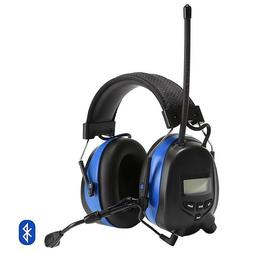 Electronic Hearing Protector Bluetooth Earmuffs with Microph