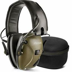 awesafe Electronic Shooting Earmuff Comes with Hard Travel S