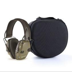 EVA Shooting Ear Muffs Glasses Case Protection Electronic Hu
