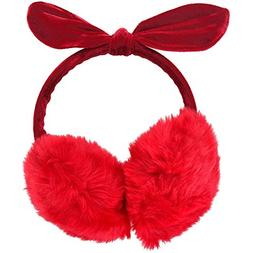 Simplicity Women's Faux Fur Fleece Winter Ear Warmers Earmuf