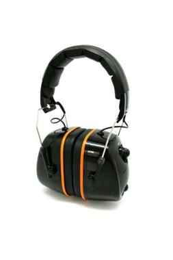 FM Hearing Protector Earmuffs Radio Mowing Work Headphone