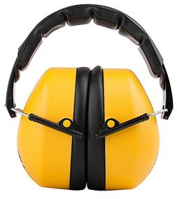 TR Industrial Schutz Compact Foldable Ear Muffs with Soft Ad