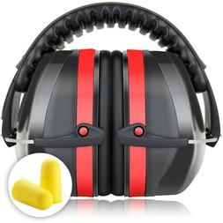 Foldable Ear Muffs Hearing Noise Reduction 34dB Protection G