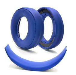 Headset Foam Cushion Ear Pads Replacement For SONY Gold PS3