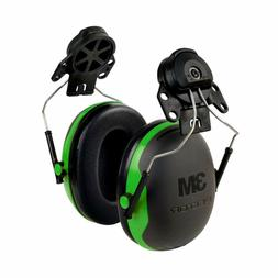 Hearing Protection Cap Mount Ear Muffs Hard Hat Noice Reduct