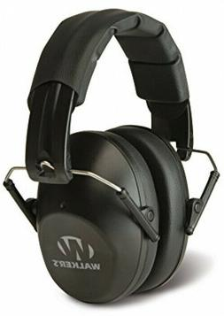 Hearing Protection Ear Muffs Low Profile Folding Safety Nois