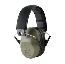 DRAB GREEN Shooting Range Earmuff Noise Reduction HIGHEST NR