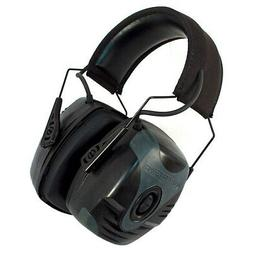 Howard Leight Impact Pro Earmuff Black Electric NRR 30 AUX C