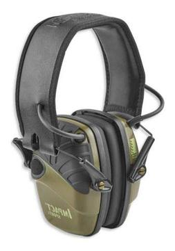 Howard Leight Impact Sport Electronic Earmuff - OD Green - N