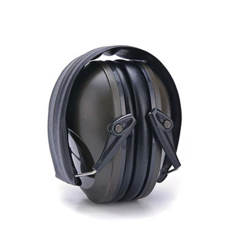 0027 CS Sound <font><b>Earmuff</b></font> Adjustable Noise-blocking Safety Hearing Foldable Outdoors